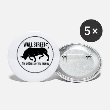 Occupy Wall Street BULL / BULL - WALL STREET - Small Buttons
