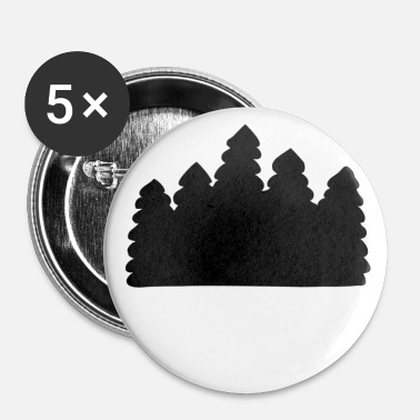Skov skov - Buttons/Badges lille, 25 mm