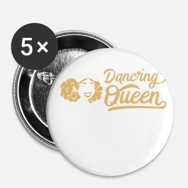 Funky Dancing Queen Dance Hip Hop Retro Disco Gave - Buttons/Badges lille, 25 mm