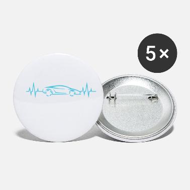 Sportscar Heartbeat - Heartbeat / Sports Car - Small Buttons