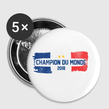 Champion du monde - France - Badge petit 25 mm