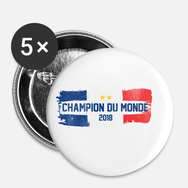 Champion Champion du monde - France - Badge petit 25 mm