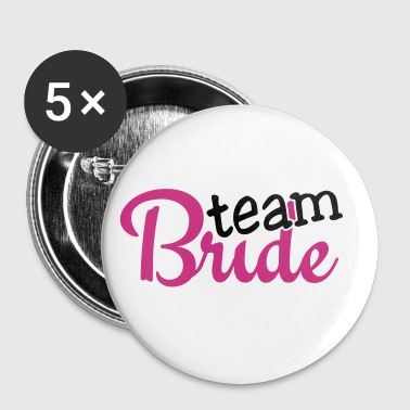 team bride 2c - Buttons klein 25 mm