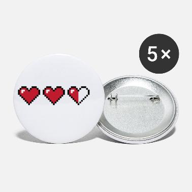 Hearts - Small Buttons