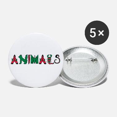 Animal Animals - Animals - Small Buttons