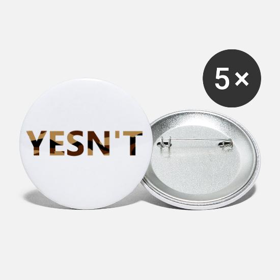 No Buttons - Invisible Yesn't - Small Buttons white