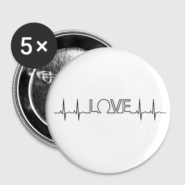Frequency Frequency of love - Buttons small 25 mm