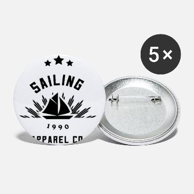 Yacht Sailors Sailing Sailboat Sailing Ship Yacht - Small Buttons