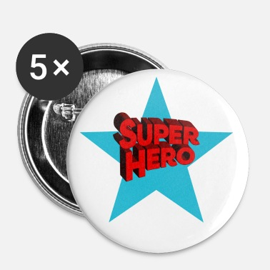 Superhelden Superhelden superhelden - Buttons klein 25 mm