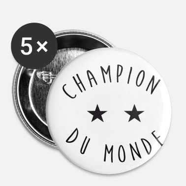 Champion Du Monde champion du monde - Badge petit 25 mm