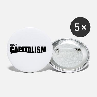 Capitalism capitalism - Small Buttons