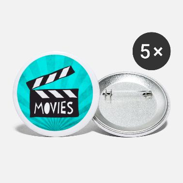Movie Cineast movie fan Cinema movie movie Gift - Small Buttons