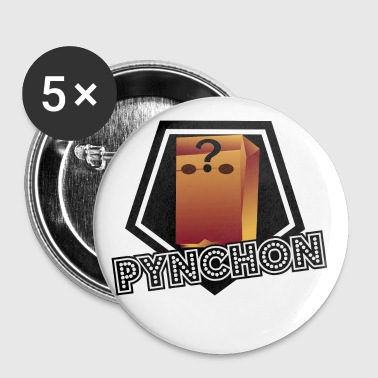 Thomas Pynchon Paper Bag  - Buttons small 25 mm