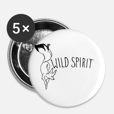 Spirit WILD SPIRIT - Buttons klein 25 mm (5-pack)