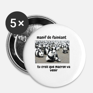 Manif manif - Badge petit 25 mm