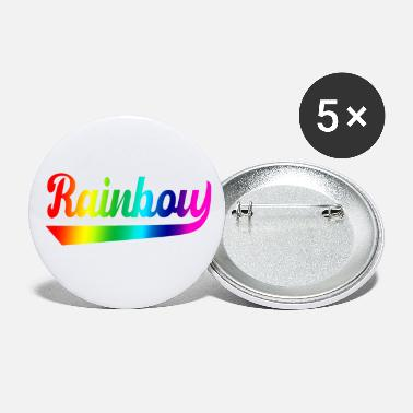 Rainbow Flag Rainbow rainbow flag rainbow flag - Small Buttons