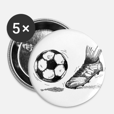 Coupe Du Monde De Foot Coup de foot - Badge petit 25 mm