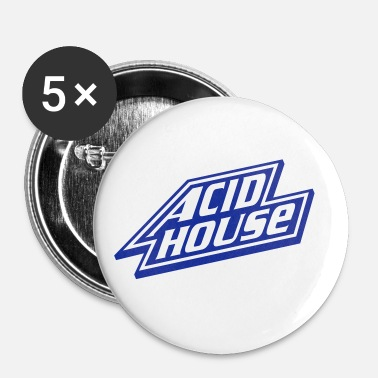 House Acid House - Buttons/Badges lille, 25 mm
