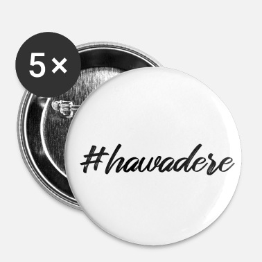 Dialect hawadere Oostenrijk dialect dialect Hallo - Buttons klein 25 mm (5-pack)