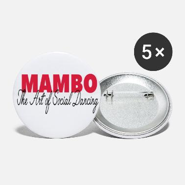 Mambo - The Art of Social Dancing - Dance Shirt - Small Buttons