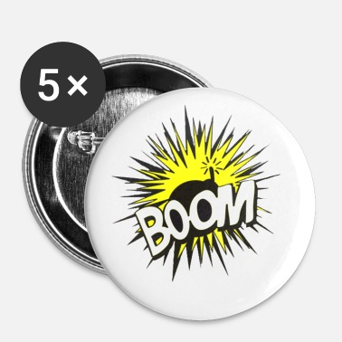 Bombe bombe - Badge petit 25 mm