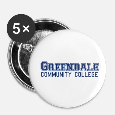 Community Greendale Community Colllege - Spilla piccola 25 mm