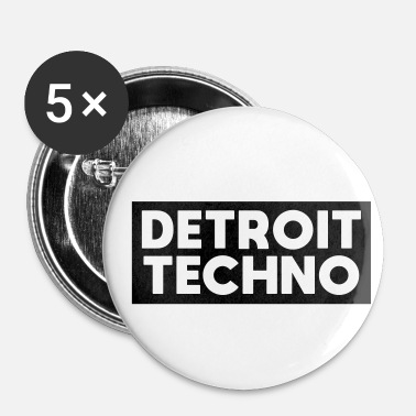 Détroit Detroit Techno - Badge petit 25 mm