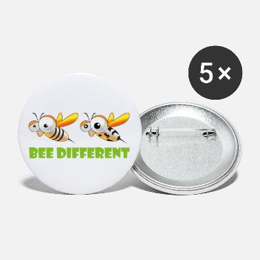 Bee Different 2 - Buttons klein