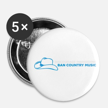 Country Ban Country Music! - Rintamerkit pienet 25 mm