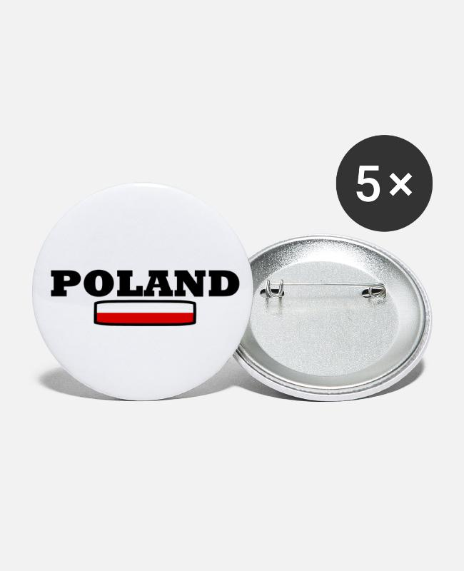 Fridays For Future Buttons - POLEN - Buttons klein wit