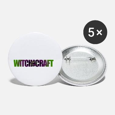 Witchcraft Witchcraft witchcraft halloween scary - Small Buttons