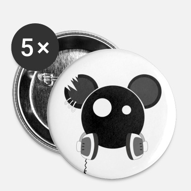 djmouse - Badge petit 25 mm