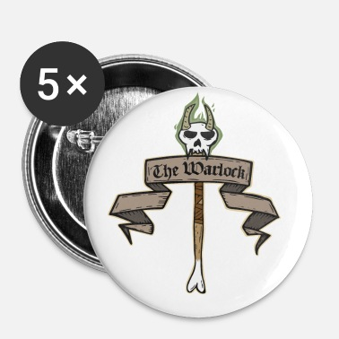 Warlock The Warlock - Buttons small 25 mm