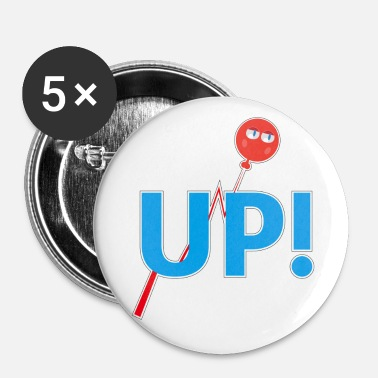 Up UP - Badge petit 25 mm