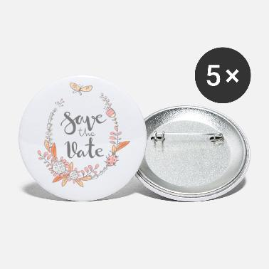 Date Save the date - Small Buttons