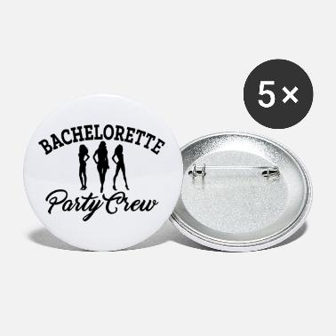 JGA Wedding Bachelorette Party Crew - Small Buttons