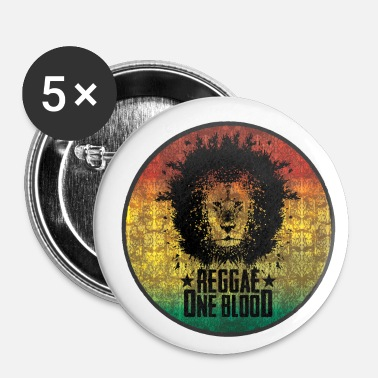 Reggae reggae - Badge petit 25 mm