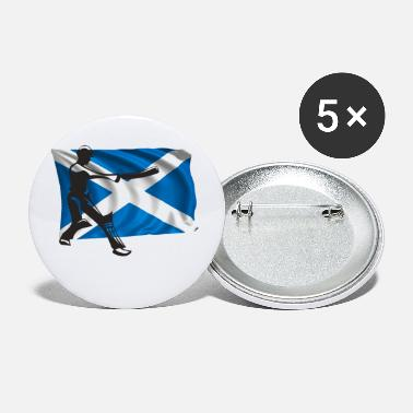 National Team Scotland cricket cricket player gift - Small Buttons