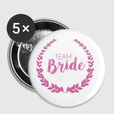 Team Bride Rosa - Spilla piccola 25 mm