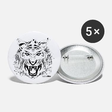 Tiger design style - Small Buttons