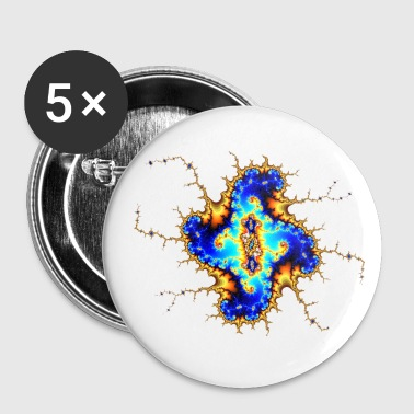 Fractal Buttons - Buttons small 25 mm