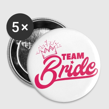 Camicia da addio al nubilato Team Bride Bride - Spilla piccola 25 mm