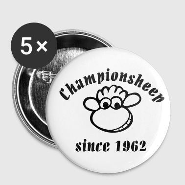 championsheep since 1962 - Buttons klein 25 mm