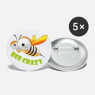 Bee crazy - Small Buttons