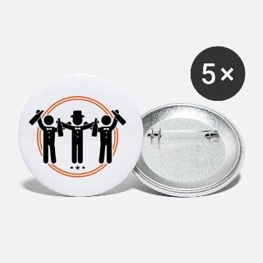 Bachelor bachelor bachelor party - Small Buttons