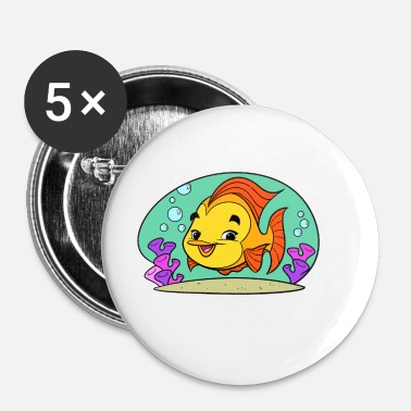 Fishy Tiny Art Collection - Buttons klein 25 mm