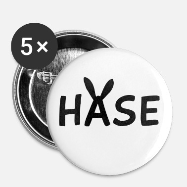 Osterhase Hase - Buttons klein 25 mm