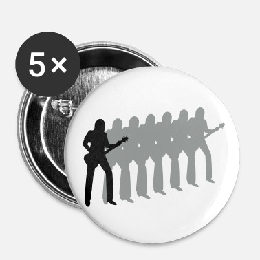 Bassist bassist - Buttons klein 25 mm (5-pack)