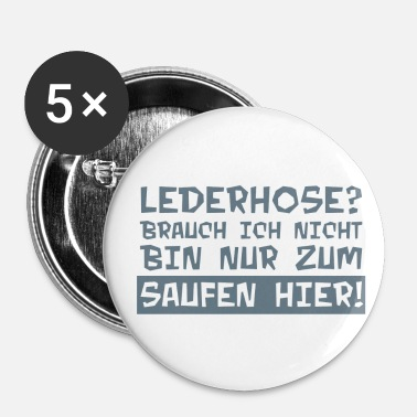 Lederhose Lederhose - Badge petit 25 mm