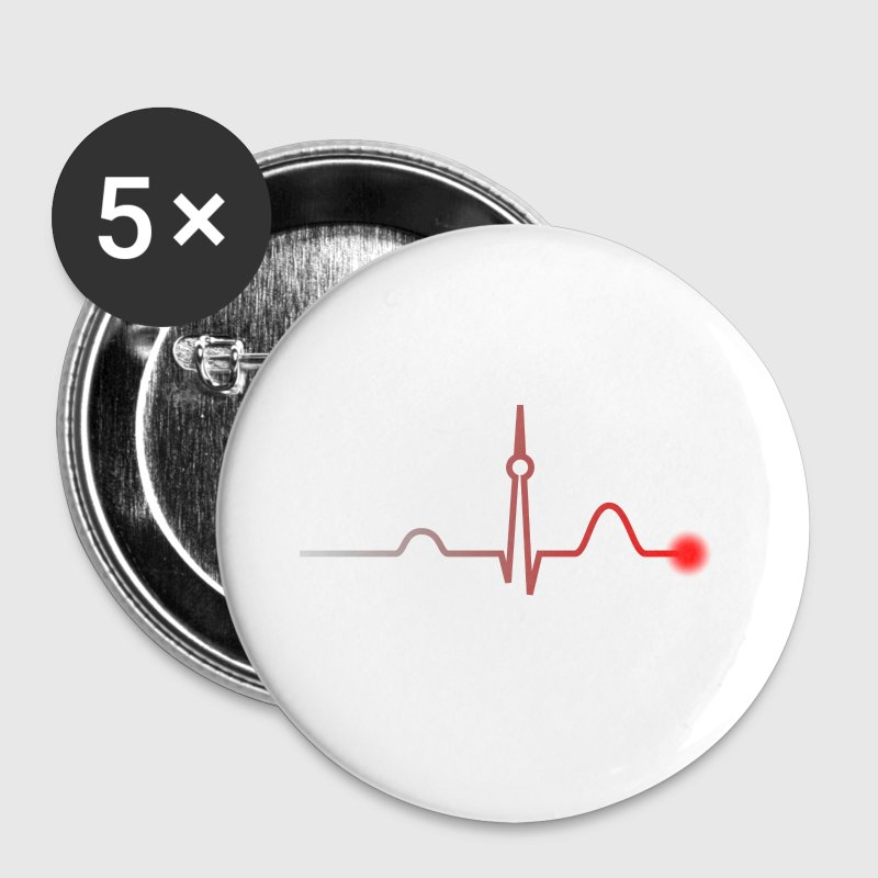 Berlin Heartbeat - Buttons small 25 mm